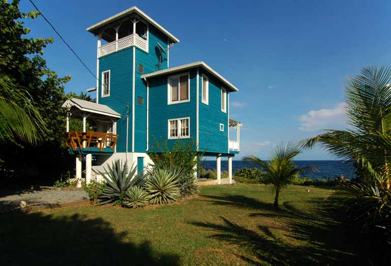 The Blue House Roatan